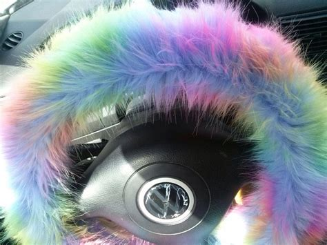 fuzzy steering wheel cover  beautysteeringwheel  etsy