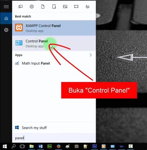 cara membuat koneksi database mysql menggunakan odbc 3 setelah itu silahkan anda buka control panel