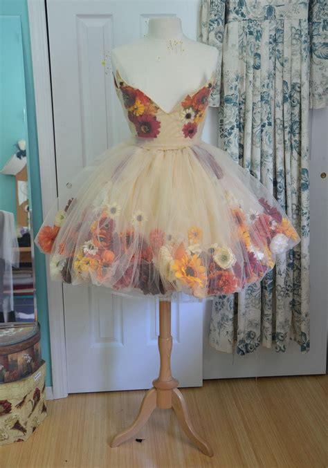Fairism Dress a fall flower part one flower fairies and flower