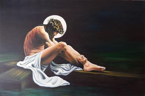 imagenes de jesus sentado jes 250 s sentado en la cruz mirla mercedes ospino herrera
