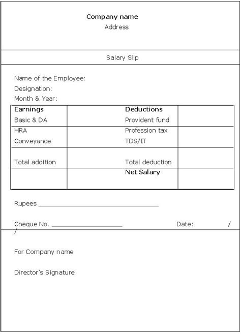 Payment Slip Template blank payslip template search results calendar 2015