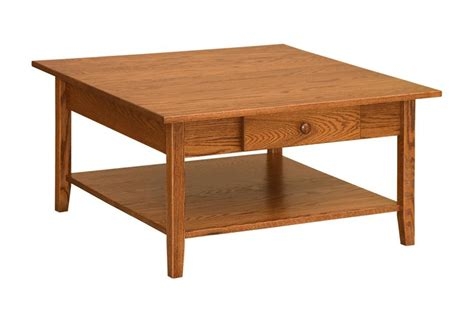 Square Wood Coffee Tables Square Living Room Table