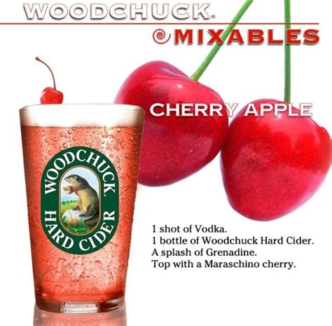 apple martini with cherry 17 best images about woodchuck cider vermont hard cider