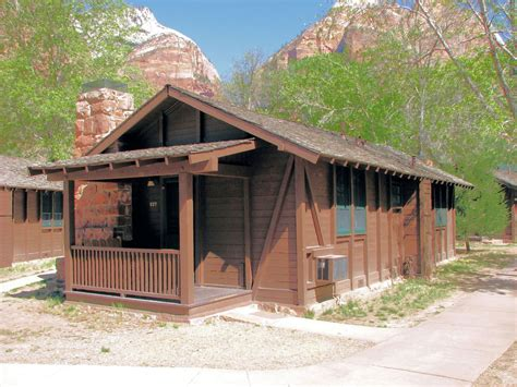 Cabin Images by Zion Lodge Zion National Park Utah