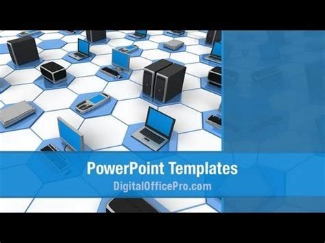 powerpoint template computer computer network powerpoint template backgrounds