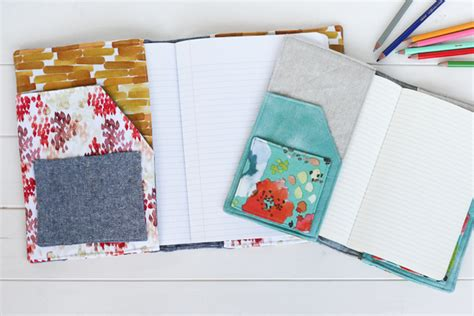 notebook sewing pattern north pond notebook cover radiant home studio