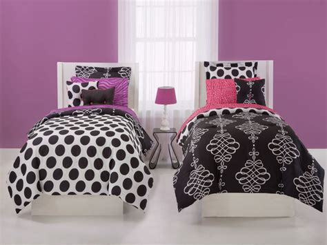 polka dot bedroom bedroom black and white polka dot bedding for teenage
