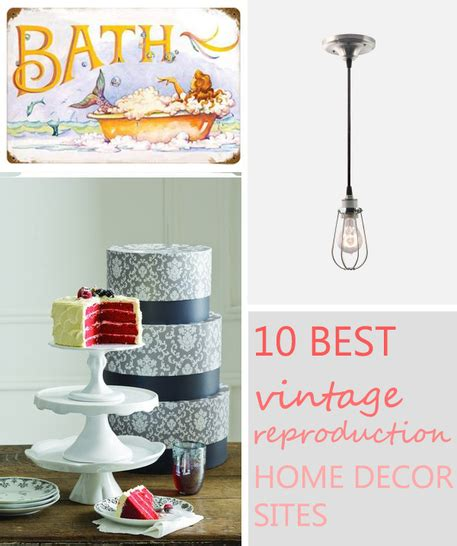 the 10 best vintage reproduction home decor craftfoxes