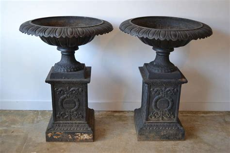 Cast Iron Planters Style Large Cast Iron Planters At 1stdibs
