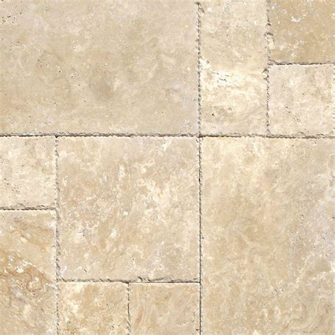 ms international tuscany beige pattern honed unfilled