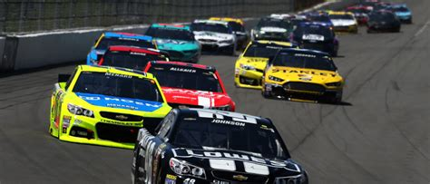 nascar in a digital devices part of the race