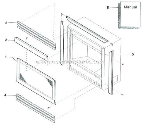 monessen df24nts parts list and diagram