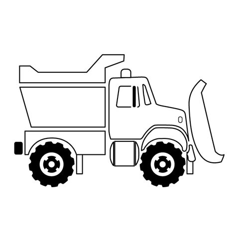 printable coloring pages dump truck dump truck picture dump truck coloring page