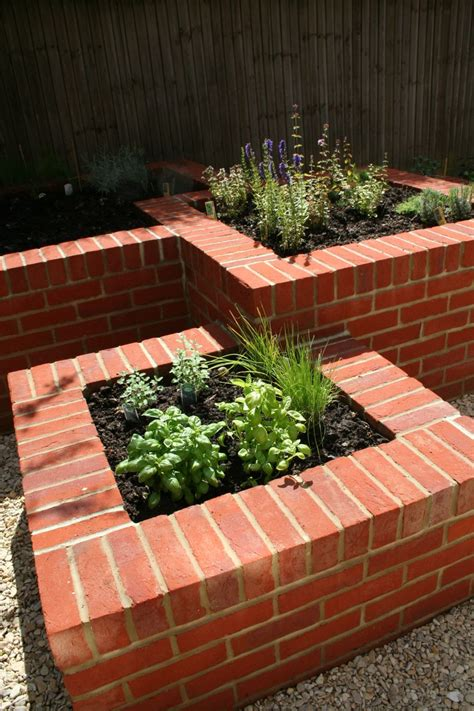 Masonry Planters by Garden Design Portfolio Materials And Features Raised