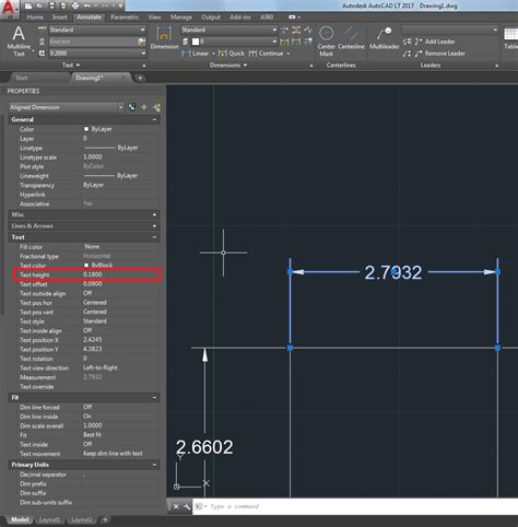 chagne testo changing dimension text height in autocad autocad