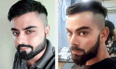 look it's virat! not in the square cut, but in the hair cut