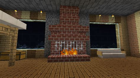 1000 images about minecraft fireplaces on
