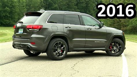 srt jeep 2016 2016 jeep grand srt photos informations