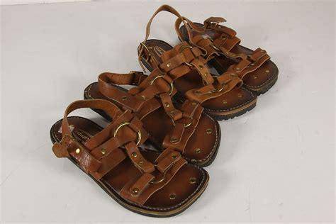 tire tread sandals nos sks brand tire tread sole sandals wms leather metal
