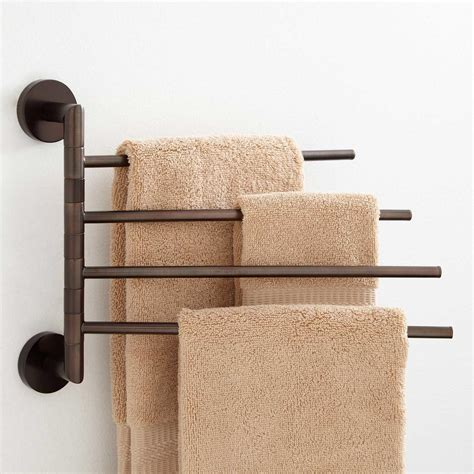 towel bar bathroom bristow triple swing arm towel bar bathroom