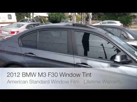 brand new 2012 bmw m3 335 3 series f30 window tint and car