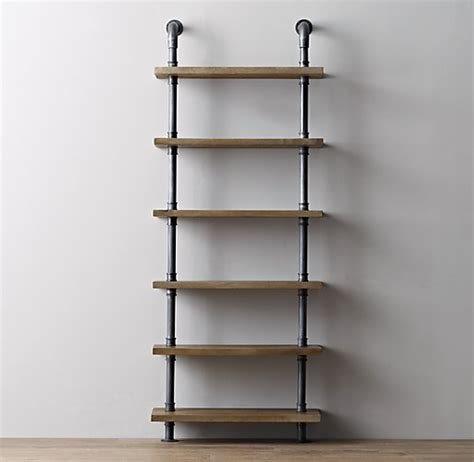 Pipe Bookcase industrial pipe shelving