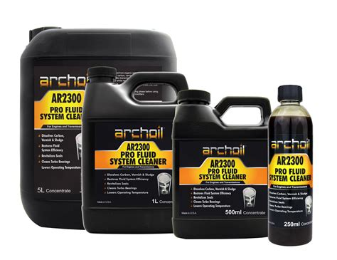 archoil ar fluid system cleaner engines gearboxes automatic transmission ebay