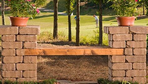 Build A Patio Bench by 17 Best Ideas About Patio Blocks On Outdoor