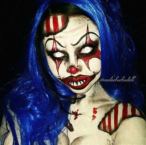 Pomade Clowns nightmare clown ig voodoobarbiedoll www