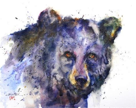 Simple And Spontaneous by Dean Cruser To Like Nature So Much His Watercolor Animals