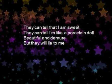 porcelain doll lyrics chrisette michele porcelain doll videolike