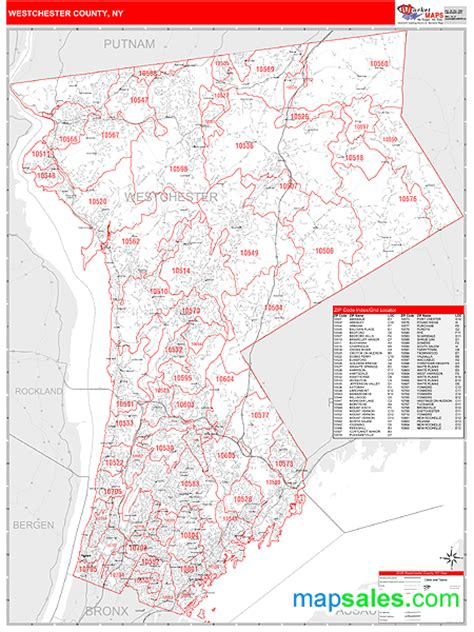 westchester county map westchester county ny map images
