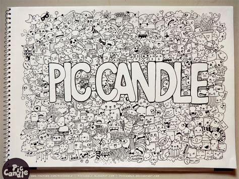 Pic Candle Doodle By Piccandle On Deviantart