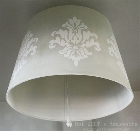 Ikea Light Shades Ceiling Stenciled Jara L Shade From Ikea Inside Flips So You Can Hang From The Ceiling Or A L