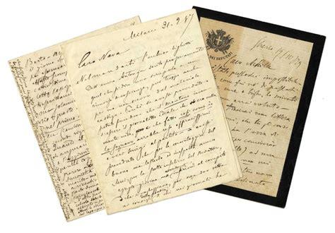 libreria cavallotti cavallotti felice 5 lettere autografe firmate asta
