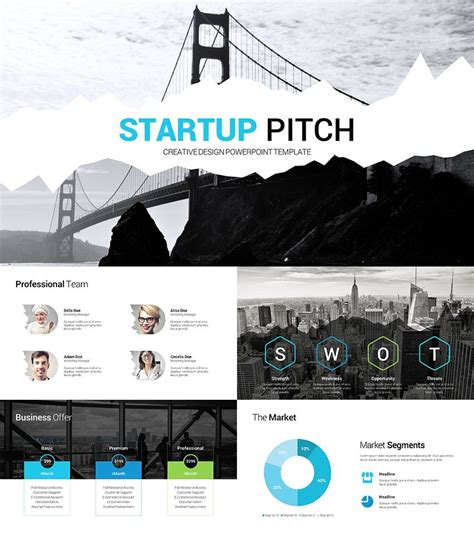 Business Startup Presentation Ppt Startup Pitch Presentation Clean Ppt Deck Slide Deck