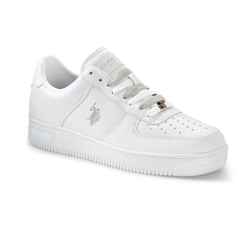 u s polo assn s branson casual athletic shoe white