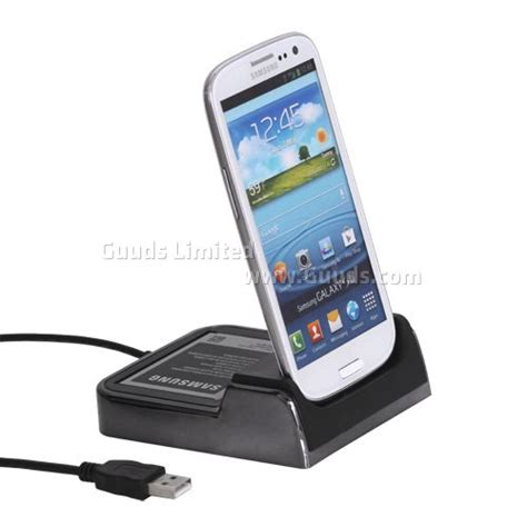 dock charger for samsung galaxy s3 i9300 with battery seat