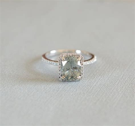 best 25 green amethyst engagement ring ideas on