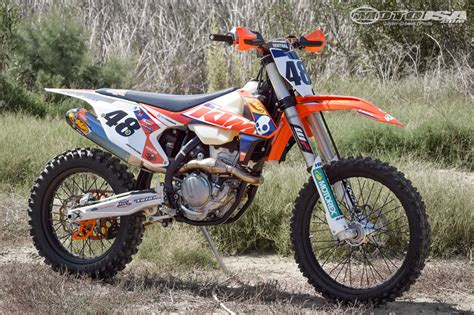ktm  xc  project powerparts motorcycle usa