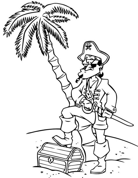 1000+ images about coloriage pirates on Pinterest | Clip