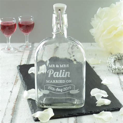 Wedding Gift Gin by Personalised Wedding Sloe Gin Bottle By Chalk Cheese