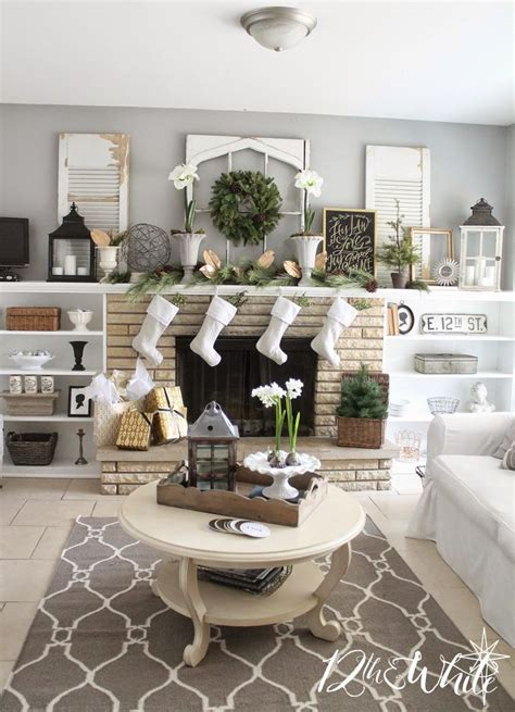 holiday decor traditional living room richmond by jennifer stoner interiors 69 best mantel accessorizing images on pinterest