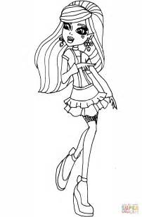 Coloring Pages For Monster High Baby Monster High High Color Page