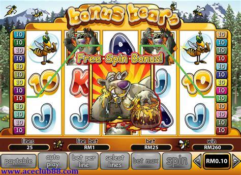 malaysia  casino slot game bonus bears