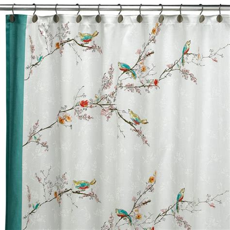 Bird Shower Curtains Pin By Skooks Playground On For The Bathroom