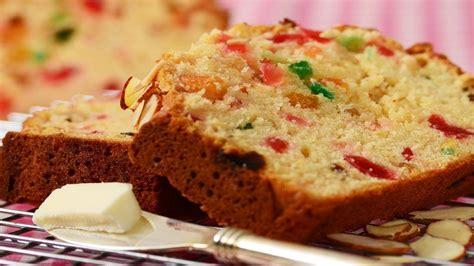 light fruit cake recipe light fruit cake recipe demonstration joyofbaking com