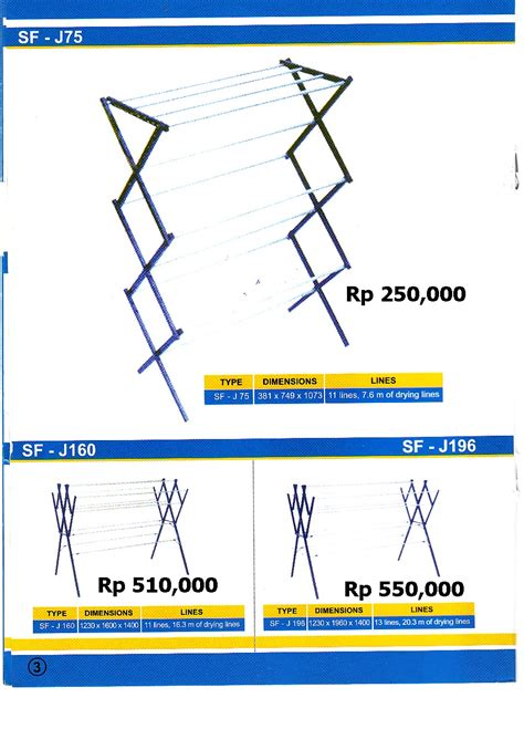 membuat jemuran baju lipat jemuran tangga lipat aluminium fiberglass