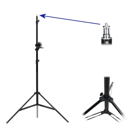 Stand Softbox photograph studio overhead boom arm light stand with grip