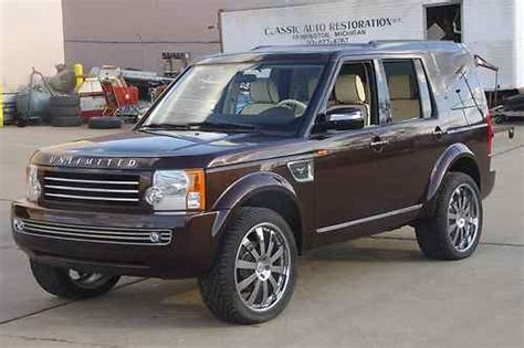 custom land rover lr3 sell used land rover lr3 se concept custom suv v8
